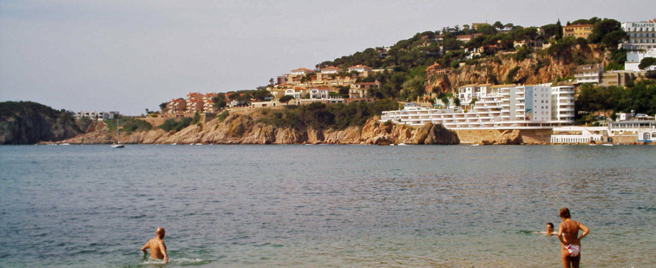 The beach at Sant Feliu