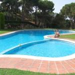 The fabulous pool at Maremar