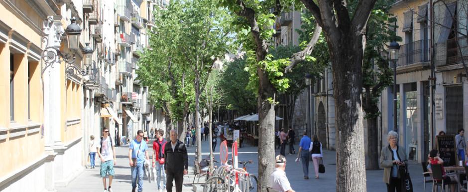 Girona boulevard