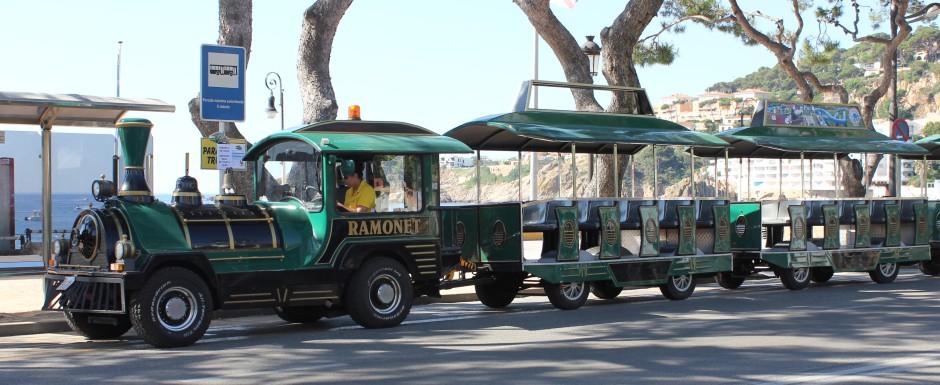 What's on in Sant Feliu de Guixols - the little tourist train