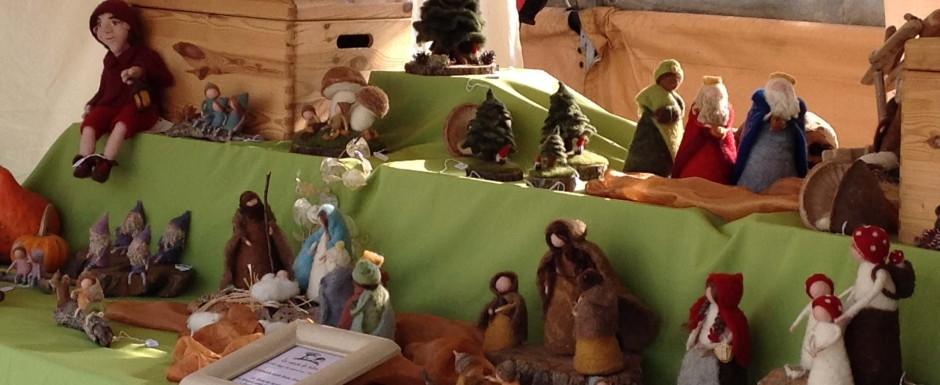 Sant feliu de guixols in november - girona christmas market