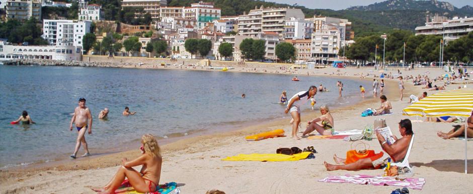 Sant Feliu beach