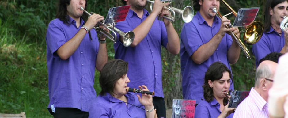 Village fiestas in Catalonia always feature the sardana with its haunting woodwind sounds