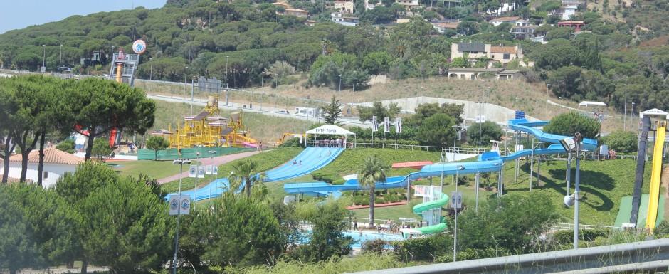 water park near sant feliu de guixols