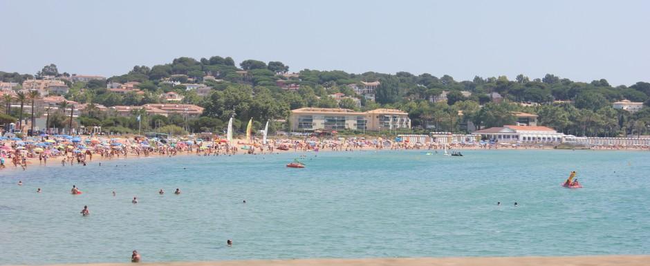 What's on in Sant Feliu de Guixols - platja sant pol