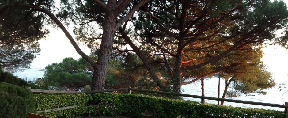 Sant feliu de guixols in november - sunrise